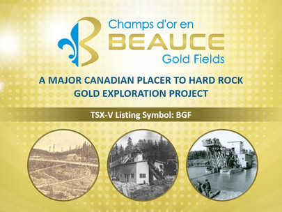 A Major Canadian Placer to Hard Rock Gold Exploration Project