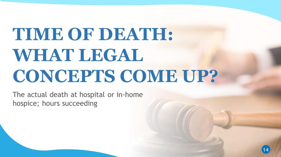 Interpreting End of Life Scenarios (14).