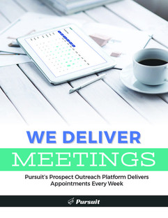 We Deliver Meetings