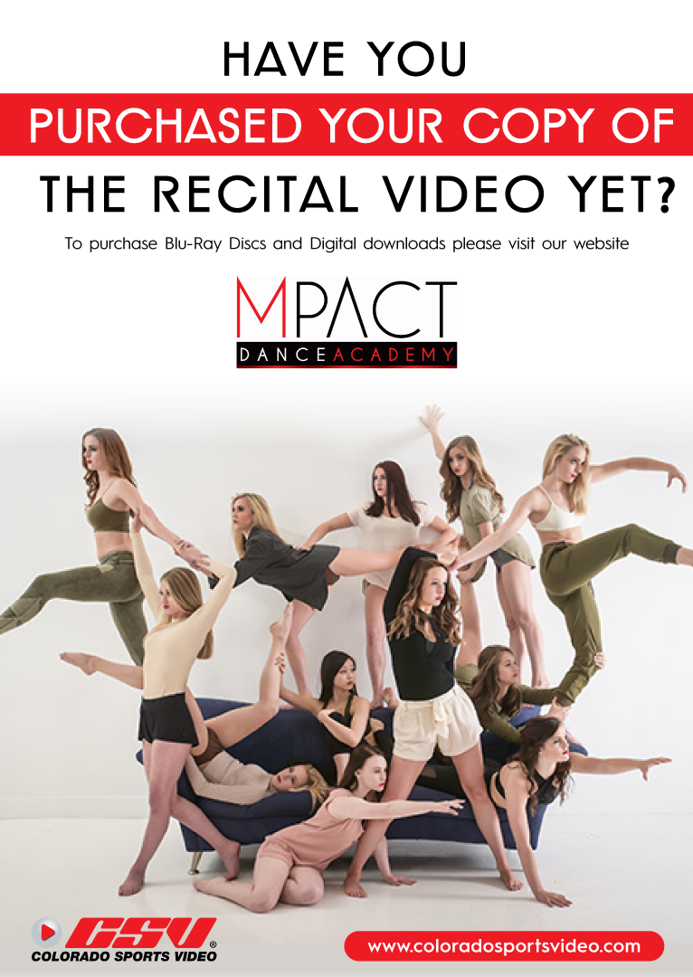 Have you Purchased your Copy of the Recital Video Yet?