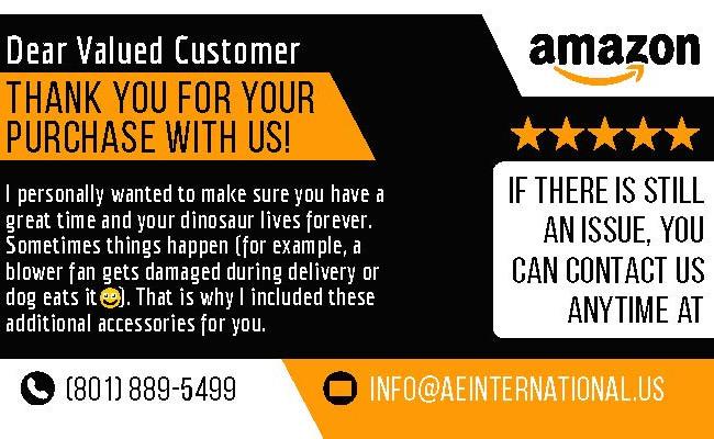 Amazon Note Brochures