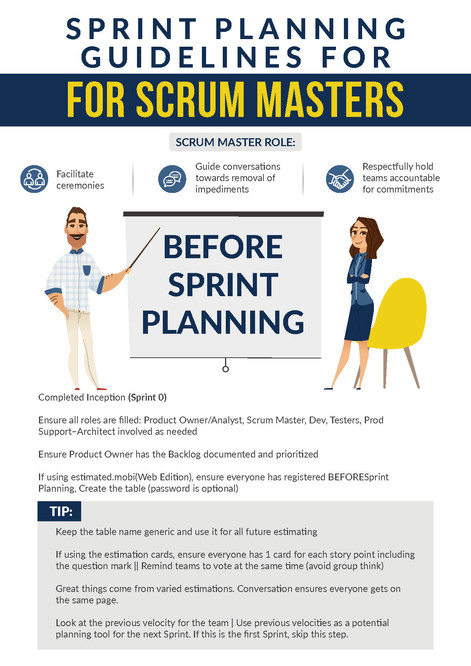 Sprint Planning Guidelines for Scrum Masters