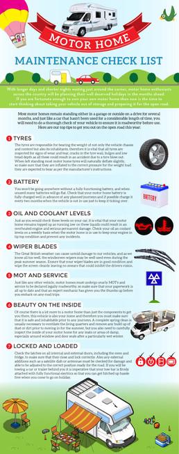 Motor Home Maintenance Check List
