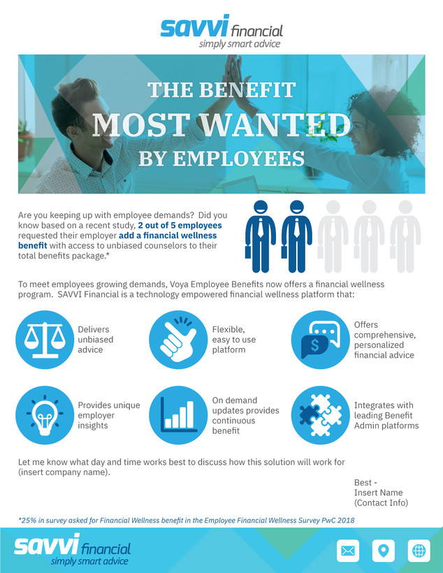 The benefit most wanted by employees