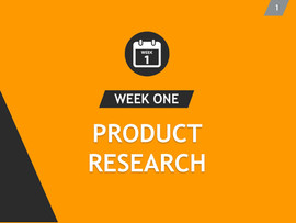 Week One Product Research