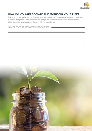 Your Pocket Money Guide from The Mindful Money Coach