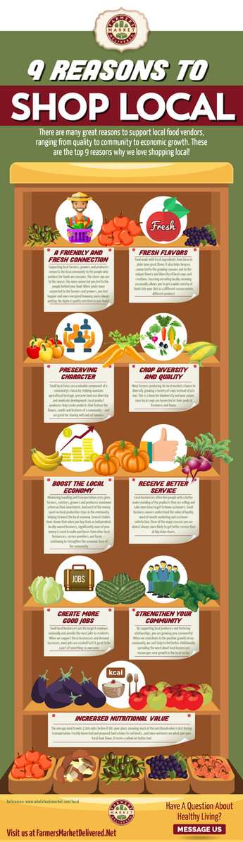 9 Reasons To Shop Local