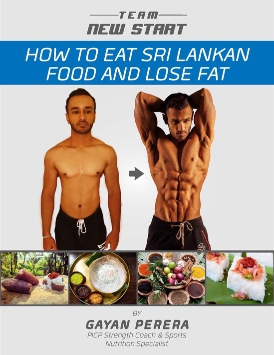 How to eat Sri Lankan food and Lose Fat Brochures