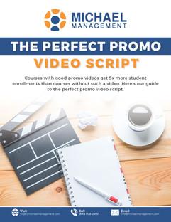 The Perfect Promo Video Script