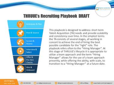 Recruiting Playbook