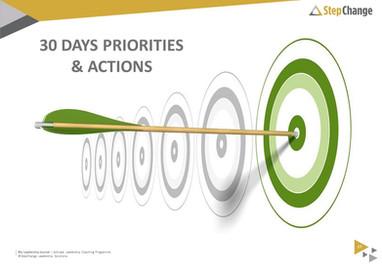 My 30 Day Accountability Plan