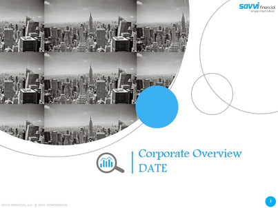 Corporate Overview Presentation