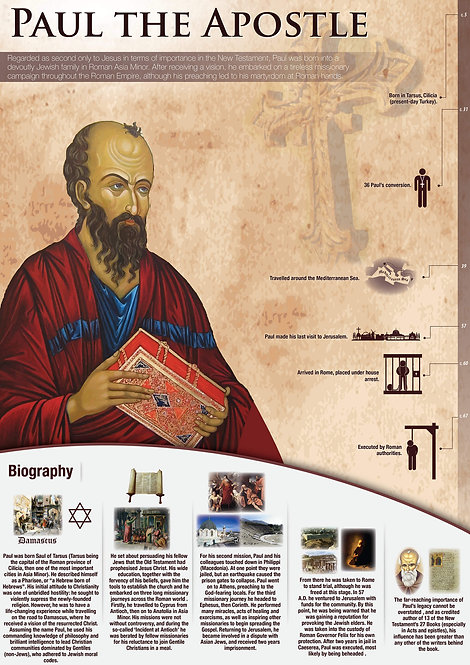 Paul The Apostle Infographic