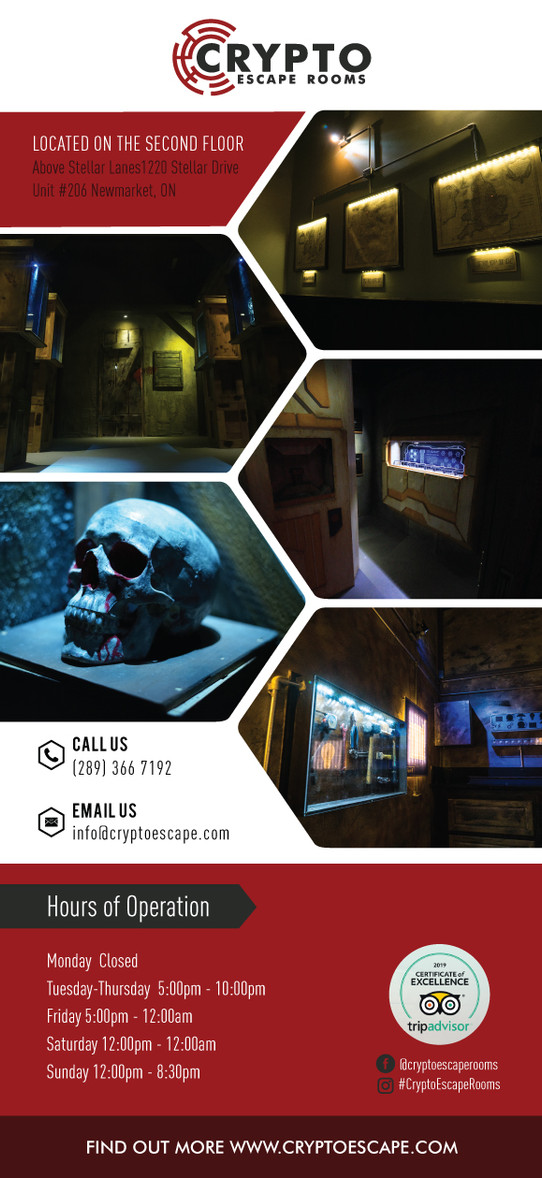 Crypto Escape rooms