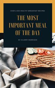 Black and Orange Food Cookbook Book Cover