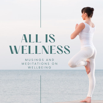 Green and White Woman Photo Health & Wellness Podcast Cover