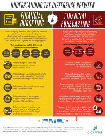 Understanding The Difference Between Financial budgeting & Financial Forecasting