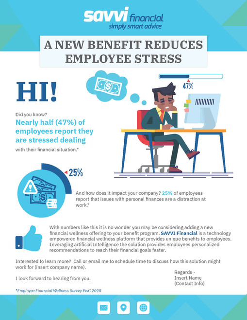 A NEW BENEFIT REDUCES EMPLOYEE STRESS