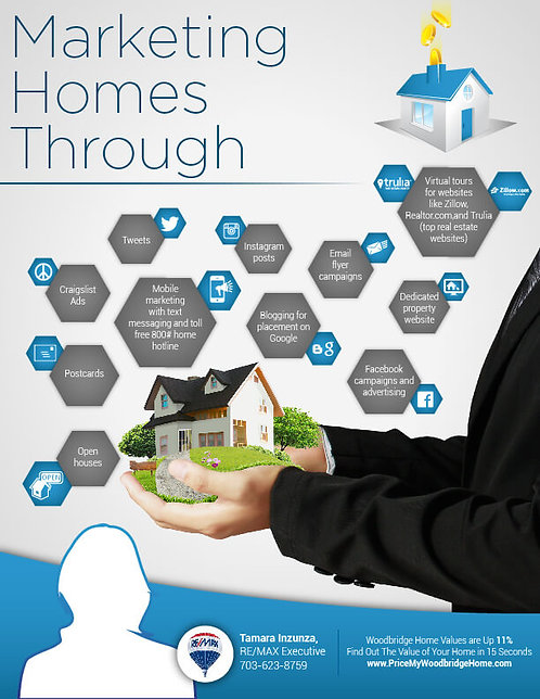 Marketing Homes Through Infographic