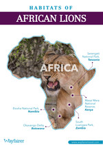 Habitats of African Lions