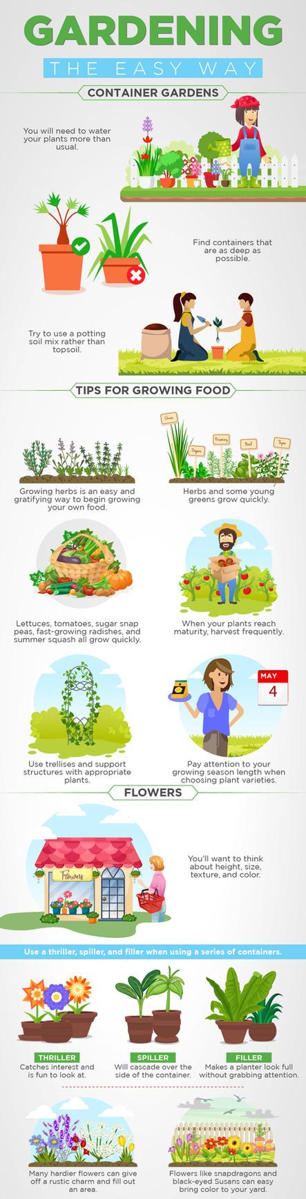 Gardening the Easy Way