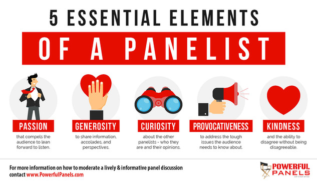 5 Essential Elements of a Panelist