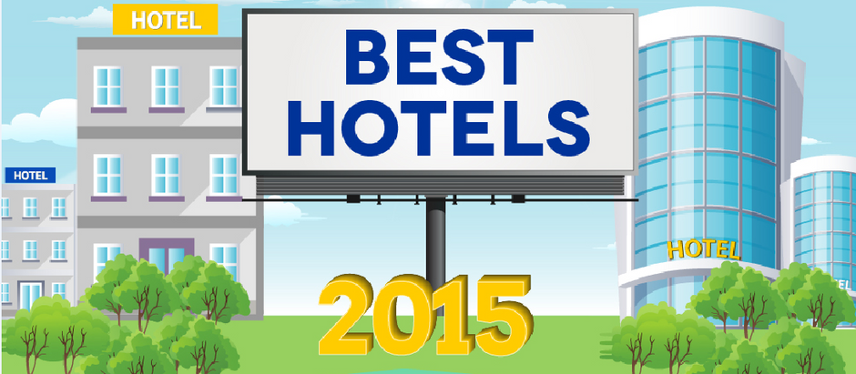 Best Hotels 2015 - Infographic