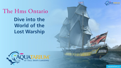 HMS Ontario Dive into the World of the Lost Warship