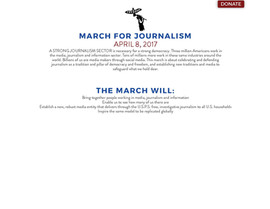 March for Journalism