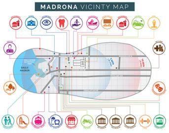 Madrona Vicinity Map
