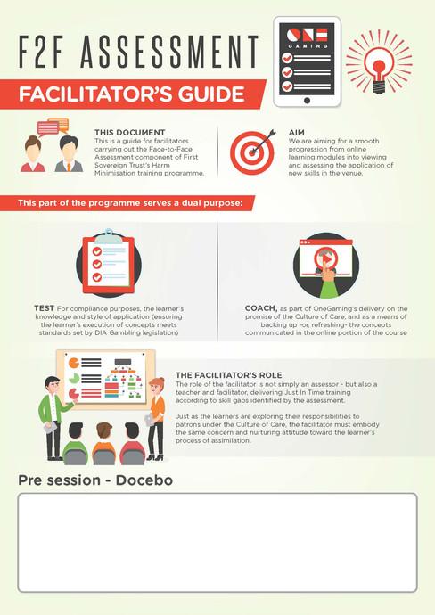 F2F Assessment Facilitator's Guide Brochures
