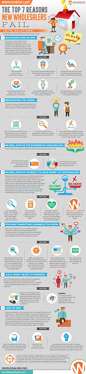 The Top 7 Reasons New Wholesalers Infographic