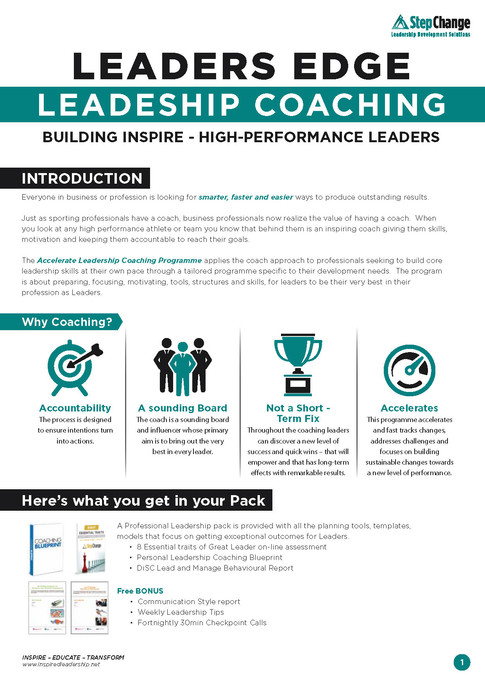Leaders Edge Leadership Coaching