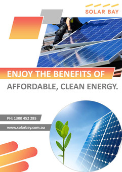 Solar Bay Enjoy the Benefits of Affordable, Clean Energy