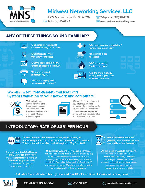 Midwest Networking Services, LLC Infographic