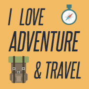 I Love Adventure & Travel Profile Pictur