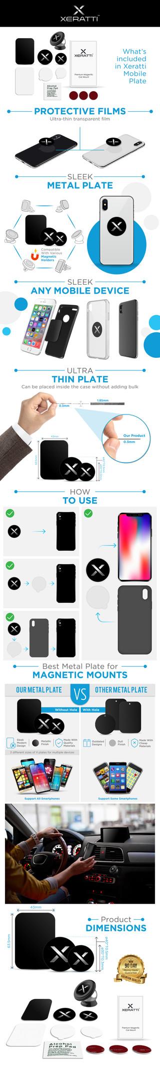 Xeratti Mobile Plate Amazon Enhanced Brand