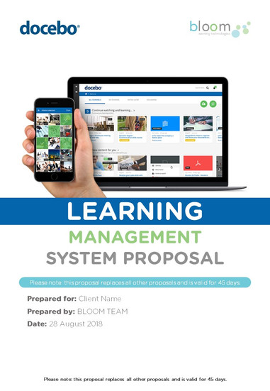 Learning Management System Proposal Playbook