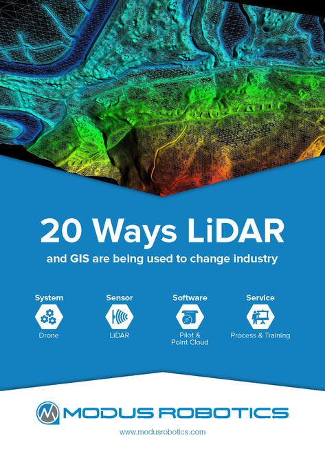 20 Ways LiDAR and GIS Are Being Used to Change Industry