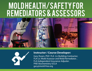 Mold Health/Safety for Remeditators & Assessors