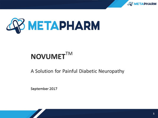 A Solution for Painful Diabetic Neuropathy