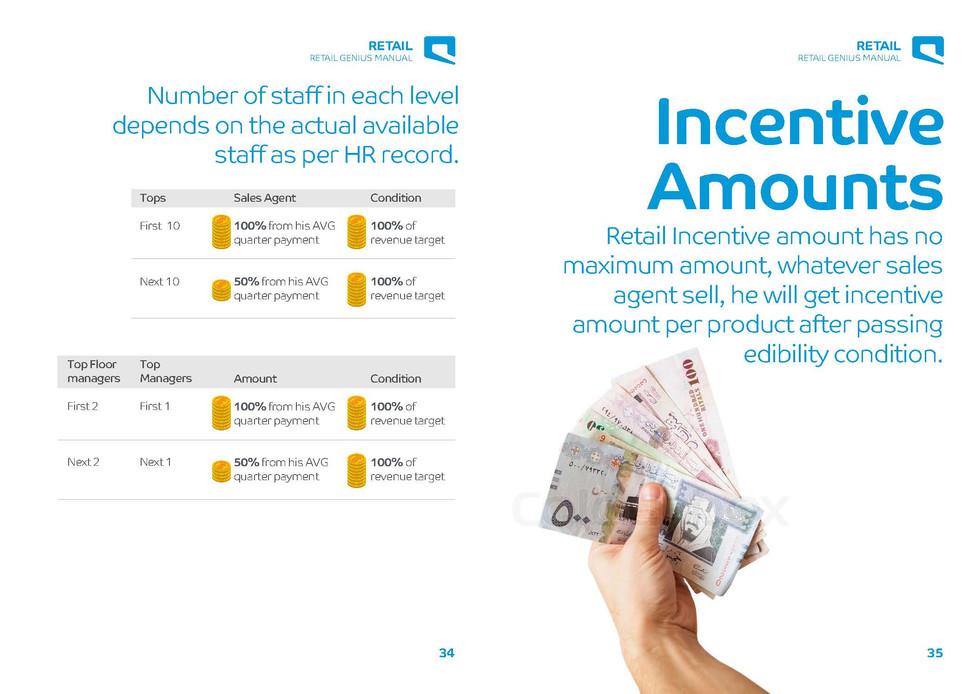 Retail Genius Manual Incentive Amounts