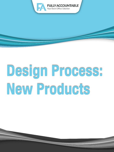 Design Process New Product Playbook