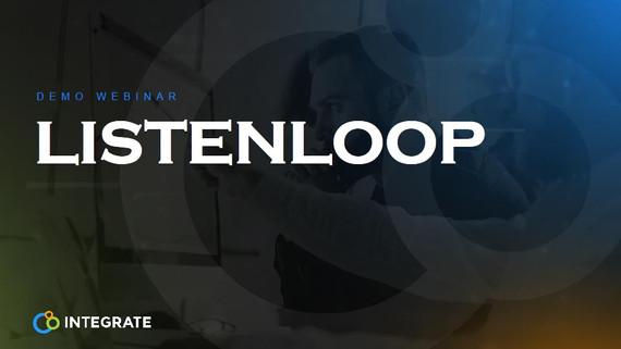 Demo Webinar ListenLoop