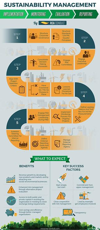 Sustainability Management Infographic