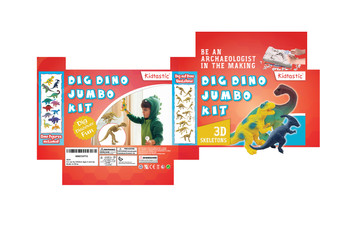 Kidtastic Dig Dino Jumbo Kit Smaller