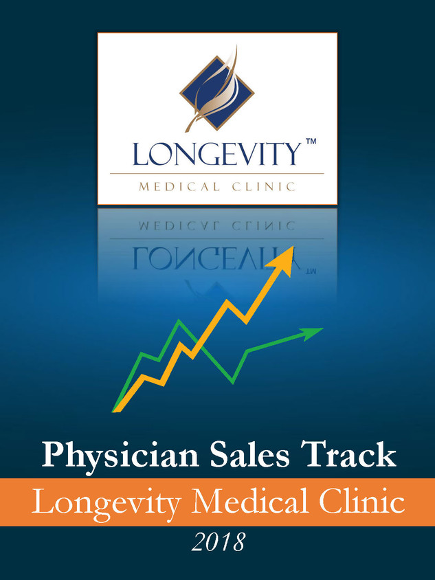 Physician Sales track Longevity Medical Clinic