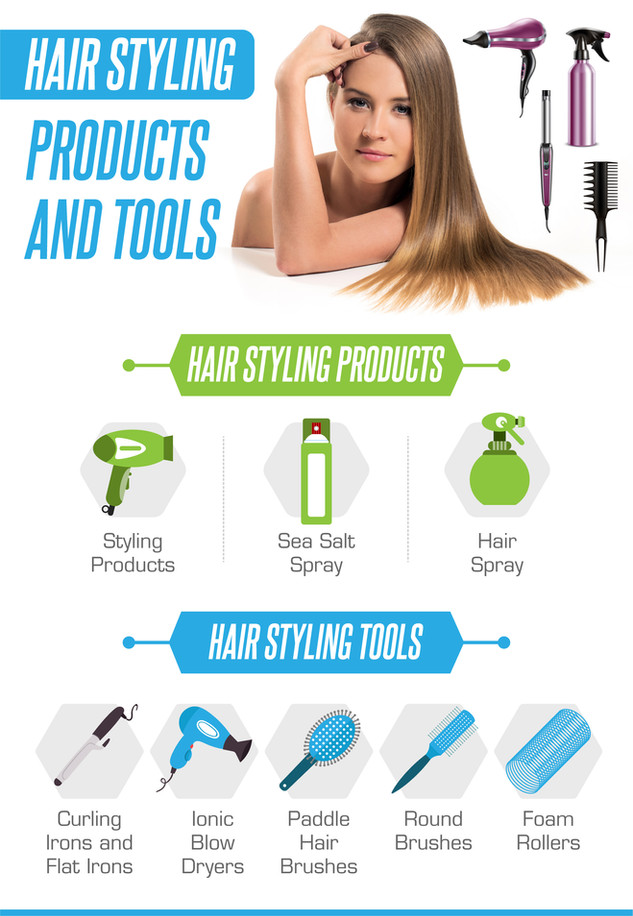 Hair Styling Products and Tools