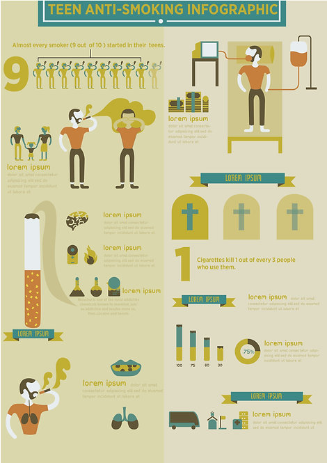 Teen Anti-Smoking Infographic