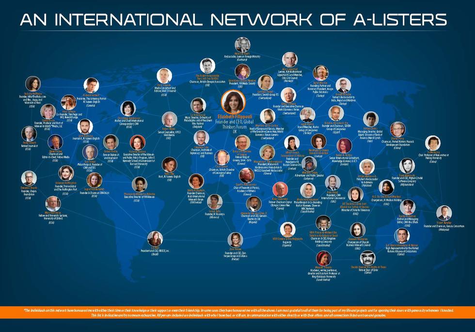 An International Network Of A-Listers Brochure